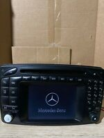 01-04 Mercedes-Benz W209 CLK55 AMG C320 Command Head Unit Navigation Radio CD