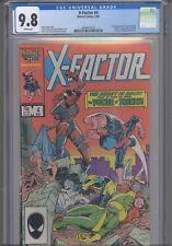 X-Factor #4 CGC 9.8 1986 Marvel Comics 1st App Freenzy (Jonna Cargill)