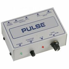 Pulse Microphone Pre-Amp Single Channel Mic Pre Amplifier