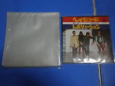 7 single NO STICKER 100 PCS PLASTIC RECORD OUTER SLEEVES Made in Japan