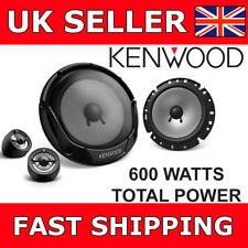 """Kenwood KFC-E170P 6.5"""" 17CM 600W Car Van Door Speakers 2 Way Components NEW"""