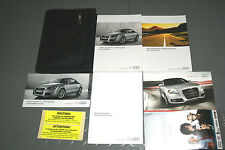 2011 Audi TT / TTS Coupe Owners Manual - SET!!! (w/Radio Manual)