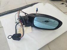 rétroviseur électrique avant  droit peugeot 607 noire phase 1