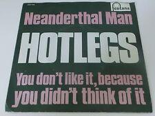 Neanderthal Man Hotlegs Fontana Mono 7 Inch Vinyl