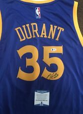 Kevin Durant Signed Autographed Golden State Warriors Jersey BECKETT COA 2