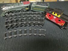 Lionel train lot - 9 tracks - Lionel 561 locomotive - Pennsylvania coal and PRR
