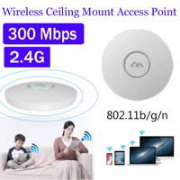Indoor Wireless Ceiling Mount POE 300M Access Point Wifi Wireless Client-AP 2.4G