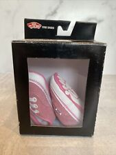 VANS Authentic (Pink / Hot Pink) Infant Crib Shoes Size 1