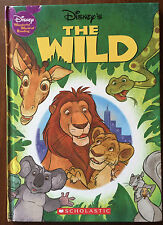Walt Disney The Wild Hardback Book Wonderful World of Reading USA Scholastic HB