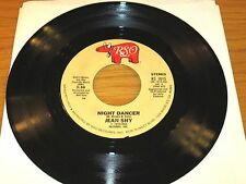 "70's ROCK 45 RPM - JEAN SHY - RSO 1015 - ""NIGHT DANCER"" Parts 1/2"