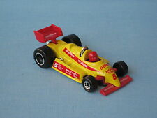 Matchbox F-1 Racer Yellow Body Goodyear Racing Toy Model Car Chrome Roll Bar