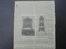 1901 Sdt. Bauzeitung 2 / Syenit Werke Friedenfels /