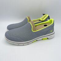 Skechers Womens Go Walk 5 - Gray Slip On Walking Shoes Size 8.5 (D23)