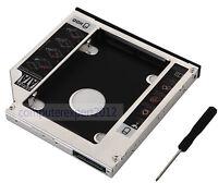 2nd SATA Hard Drive HDD HD SSD Caddy For Lenovo IdeaPad Z470 Z475 Z480 Z560 Z565