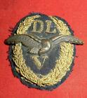 WW2 DLVDEUTSCHER LUFTFAHRT - VERBAND Abzeichen Luftwaffe2.WK Original Top !