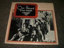 Tom Hunter & Friends~Our Record~AUTOGRAPHED~Insert~Children's Folk~FAST SHIPPING