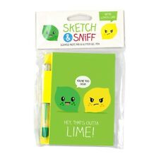 Smencils Lemon & Lime Schizzo e sniffare Pad-Profumato nota Pad & Penna
