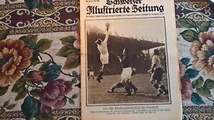 1924 Illustrierte 24 Fußball Schweiz / Frauenfeld Pfingstrennen