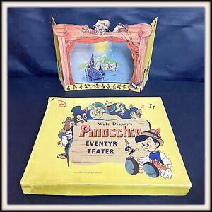 ⭐ PINOCCHIO Eventyr TEATER Disney - Denmark 1940 - DISNEYANA.IT ⭐