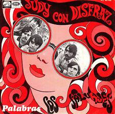 """7"""" promo LOS SALVAJES judy con disfraz / palabras 45 SPAIN 1968 PSYCH mod"""