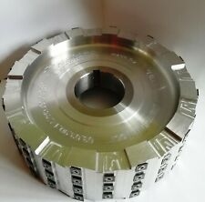 Cutter Head with Carbide Inserts. D=290mm B=90mm For woodworking & other machine