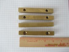 Solid Brass Bars.4 '' long x 1/2 inch square