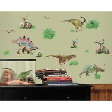 Dinosaurs Wall Decals 25 Realistic Stickers T-Rex Jurassic World Dino Decor new
