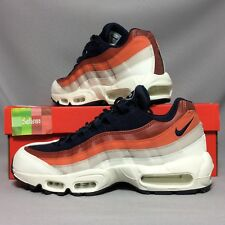 Nike Air Max 95 UK8 749766-108 EUR42.5 US9 Essential Blue Red White Leather Mesh