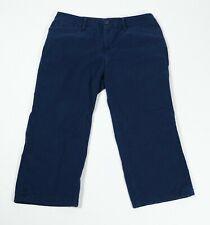 LRL Lauren Jeans Co Womens Blue Capris Sz 4