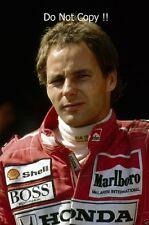 Gerhard Berger McLaren F1 Portrait 1990 Photograph 1