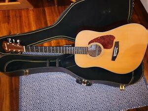 1985 Vintage Ibanez Acoustic V300 MIJ Guitar & Case made in Japan