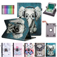 """Universal Leather Flip Stand Case Cover For 9.6"""" 10"""" 10.1 10.5 Android Tablet PC"""