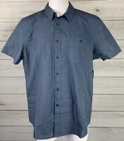 New American Rag Blue Button Down Shirt 2XL XXL Artic Night NWT MSRP $40 A6502