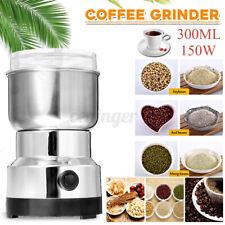 AU 220V Electric Coffee Grinder Grinding Milling Bean Spice Matte Blender Kit