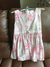 Stunning Unique Handmade Girls Floral Dress Size 5-6