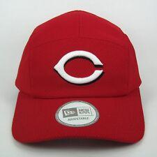 New Era Men's MLB Cincinnati Reds Diamond Era 5 Panel Strapback Cap-taille unique