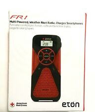 Eton FR1 Weather Radio Crank Phone Charger American Red Cross New open box