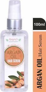 Natural Argan Hair Oil Serum Nourishing & Frizz Control Hair Serum(set-2)(100ml)