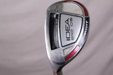 Adams Idea a12OS 4 Hybrid Stiff Left-Handed Graphite Golf Club #7118