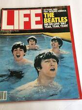 Life Magazine February 1984 Beatles 20 Years Did We Love Them?  Yeah Yeah
