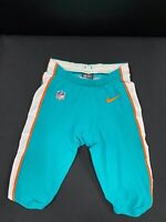 #2 MIAMI DOLPHINS NIKE GAME USED AQUA CURRENT STYLE PANTS 2019/2020 SEASON