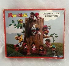 Vintage 1974 Sekiguchi MONCHHICHI Parker Brothers Canada JIGSAW PUZZLE Monkeys