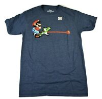 Super Mario World Nintendo Mens Mario & Yoshi Shirt New S, M, L, XL, 2XL