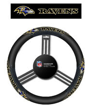 Baltimore Ravens Steering Wheel Cover Massage Grip