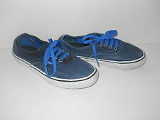 Junior VANS Blue Trainers, Size: UK - 1.5  EU - 32.5   US - 2