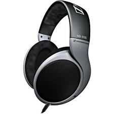 Sennheiser HD 555 Headband Headphones - Black/Gray