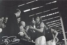 BILLY BONDS Signed 12x8 Photo WEST HAM UTD Legend COA