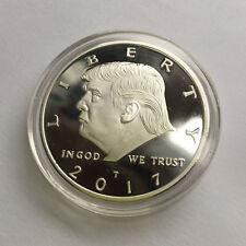 2017 President Donald Trump Inaugural Silver Eagle Commemorative Novelty Coin