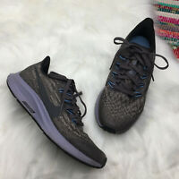 Nike Air Zoom Pegasus 36 Kids Running Shoe Sneaker US 4 Youth Gray AR4149-002