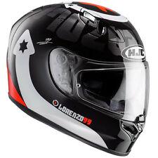 Gloss Fibreglass HJC Motorcycle Helmets